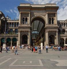 Hotel Kristall 3, Miláno - letecky