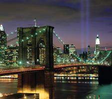 Hotel Skyline, Manhattan, New York - letecky