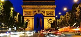Hotel Marceau Bastile 4, Paříž - letecky