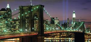 Hotel Plaza, Manhattan, New York - letecky *****