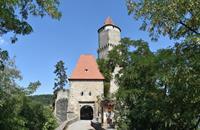Zámek Orlík a hrad Zvíkov