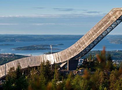 Oslo a Holmenkollen