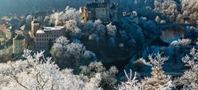 Hrad Loket a Karlovy Vary