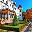 Zámek Konopiště a zámek a park v Průhonicích *