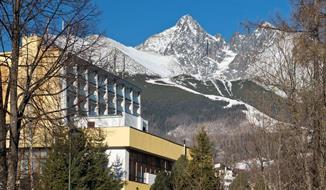Hotel Urán, Tatranská Lomnice, vlakem Pendolino