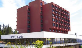 Hotel Trigan, Štrbské Pleso, vlakem Pendolino