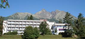 Hotel Morava, Tatranská Lomnice, vlakem Pendolino