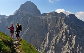 Hřebenovka Julských Alp