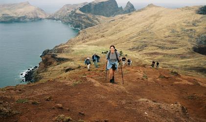 Madeira - horský přechod