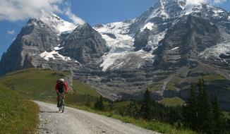 Švýcarsko - Bernské Alpy cyklistika