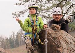Outdoorový křest pro rodiče s dětmi