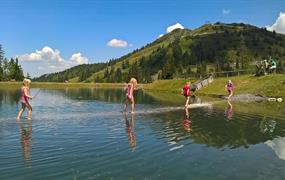 S dětmi do Alp