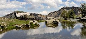 Francouzské Alpy - trek s ubytováním na...
