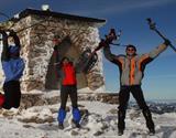 Zimní Raxy na sněžnicích