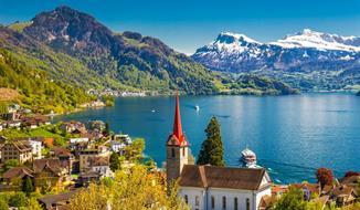 """Švýcarsko A Výlet """"horským Expresem"""""""