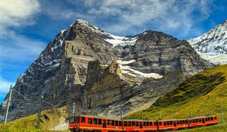 Švýcarsko A Glacier Express
