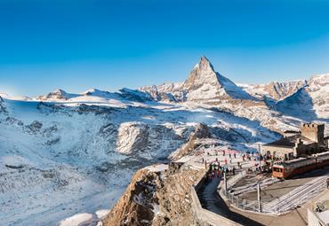Švýcarsko - Ohromující Panorama Wallisu