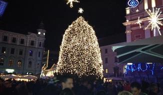 Advent ve slovinské Lublani a Mariboru