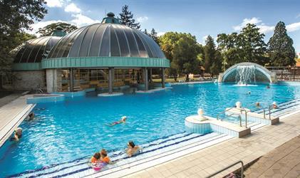 Maďarsko - Lázně Eger - Hotel Imola Platán