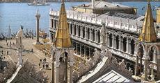 Benátky a ostrovy Laguny letecky (a architektura) 2018