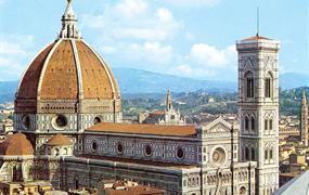 Florencie, Siena, Lucca - poklady Toskánska letecky