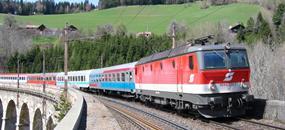 Adventní Graz vlakem