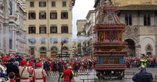 Florencie, Toskánsko, perla renesance a velikonoční slavnost ohňů 2019