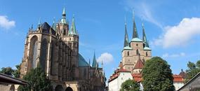 Cibulový festival ve Výmaru a nezapomenutelný Erfurt