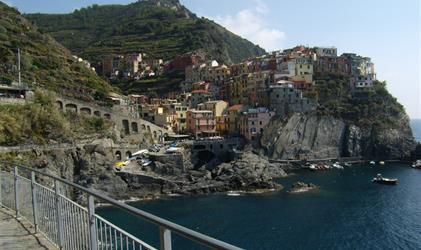 Ligurská riviéra a Cinque Terre s koupáním 2019