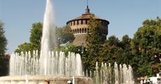 Milano a jezera Maggiore a Lugano a horský vláček