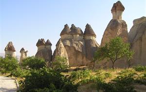 Krásy turecké Kappadokie s pěší turistikou 2019