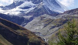 Švýcarskem za bernardýny, nejvyšší horou a ledovcem 2019