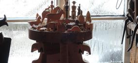 Seiffen, advent ve městě hraček a betlémů