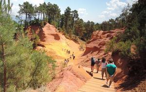Přírodní parky a památky Provence s koupáním 2020