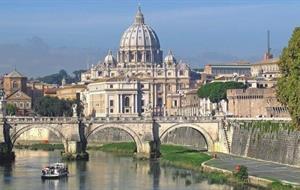 Řím a Vatikán, Genzano, zahrady Tivoli, Subiaco, UNESCO 2020