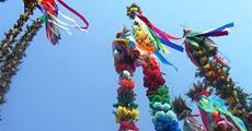 Palmová neděle, velikonoční svátky v Polsku a tradice Slezska 2020