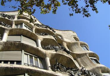 Barcelona, po stopách Gaudího 2020