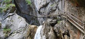 Rakouské soutěsky, kaňony a vodopády 2020