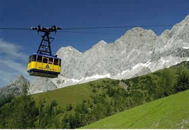 Dachstein a jezero Bodensee 2020