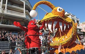 Karneval květů v Nice a festival citrusů v Mentonu 2020