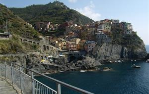 Ligurská riviéra a Cinque Terre s koupáním 2020