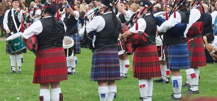 Skotské hry na zámku Sychrov a Whisky 2020