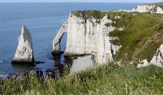 Tajemná Normandie, zahrady, Alabastrové pobřeží, den D 2021