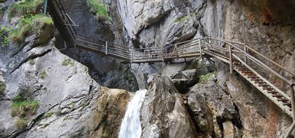 Rakouské soutěsky, kaňony a vodopády 2021