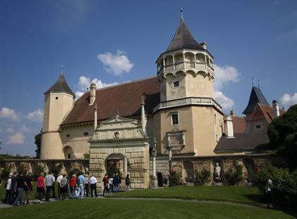 Advent v rakouských zahradách a na zámku Rosenburg 2021