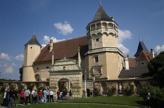 Advent v rakouských zahradách a na zámku Rosenburg 2021 ***