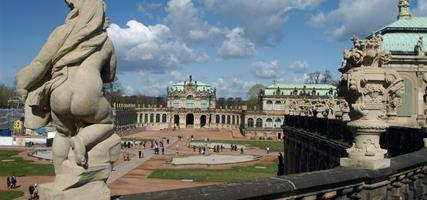 Adventní Drážďany - festival štol - výstava Vermeer 2021