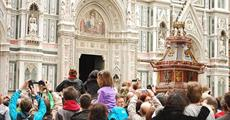 Florencie, Toskánsko, perla renesance a velikonoční slavnost ohňů 2022