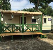Camping Duca Amedeo - mobilhome B, autobusem