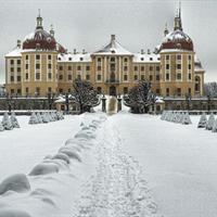 Adventní Míšeň, zámek Moritzburg